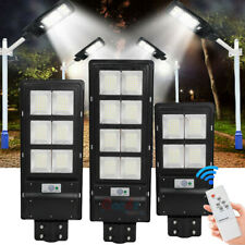 New listing 1400000Lm Solar Spotlight Street Light Led Ip67 Outdoor Garden Lighting+Pole