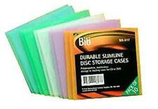 2 X bib-617n, Paquete De 10 Nuevos durable Cd Dvd casos Multicolores Total 20 casos