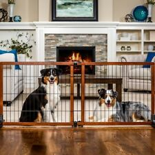 Carlson Extension Pet Gate Freestanding Wood Dog Baby Safety Gate 28� Tall Large