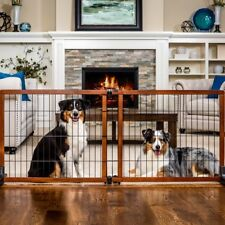 New listing Carlson Extension Pet Gate Freestanding Wood Dog Baby Safety Gate 28� Tall Large