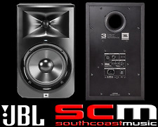 "JBL LSR308 x2 8"" Two-Way Powered Studio Monitors Active Speaker Pro Pair  - NEW"