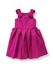 Janie & Jack Pink Silk Dress & Matching Headband ~ 2T NEW MSRP $199