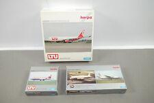 herpa  LTU 2 + 1 DP Flugzeuge Flugzeug Modell   1:500 in Box  (K89)