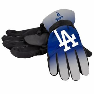 Los Angeles Dodgers Gloves Logo Gradient Insulated Winter NEW Unisex S/M L/XL