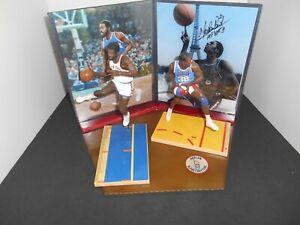 NBA Photo Base + Custom Meadowlark Lemon and Earl Monroe McFarlane Figures