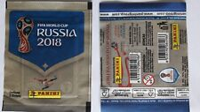 "PACKET TÜTE PANINI WORLD CUP RUSSIA 2018 BRAZIL VERSION "" CONTIENE 5 STICKERS"""