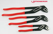 "Brand New Rothenberger SPK Water Pump Plier Set 7"" ,10"" ,12"" Genuine"