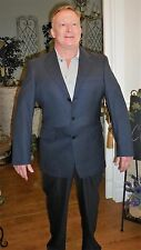 Austin Reed 40R Lined Blue Wool Suit Coat & Pants London-England for Dillards