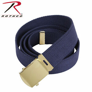 CITY CAMO BELT WITH BLACK BUCKLE 100% Cotton Military Web Belts Rothco 4178