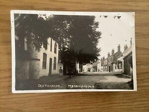 Old Vicarage Messingham Near Scunthorpe Postcard