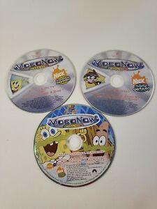 Video Now Color Lot Of 3 Disk(no cases) 2-SpongeBob 1-Fairly Odd Parents
