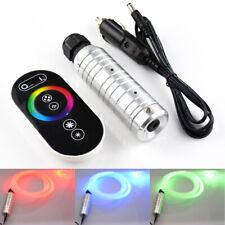 Auto 6W 12V RGB LED Fiber Optic Star Remote Control Ceiling Atmosphere Light Kit