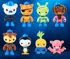 Octonauts Toy Set 8pcs Tv and Movie Character Toy Model Toy for Children Figure