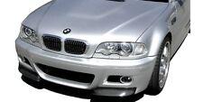 In carbonio Splitter Paraurti Adatto per BMW m3 e46 Coupè (00-06) cabrio (01-07)