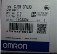 New 1Pcs Omron CJ2M-CPU33 Cpu Unit as