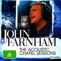JOHN FARNHAM The Acoustic Chapel Sessions CD/DVD PAL Region 4 BRAND NEW