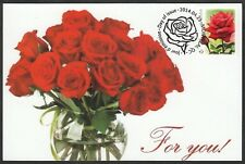 CANADA #2727a- A BEAUTIFUL CARD to go WITH YOUR ROSE BOUQUET - MAXICARD