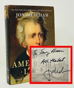 Jon Meacham - American Lion: Andrew Jackson - SIGNED 1st 1st - PULITZER Prize