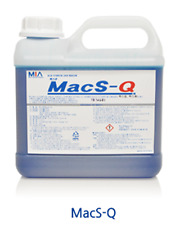MIA Macs-Q rinse dry, rinse aid supplement for dishwasher Machine restaurant