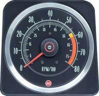 1969 Camaro Z28 & 396/375 HP 6 X 8 Tach Dash Tachometer New OER
