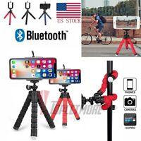 Flexible Octopus Phone Desk Holder Tripod Bracket Wireless Selfie Stand Monopod