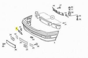 Mercedes-Benz SL-Class R129 Front Bumper Tow Hook Eye Cover A12988001059999