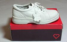Ladies White Real Leather Lace Up Shoes Hospital Pro Golf BNIB UK Size 8 #154