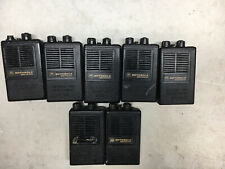 Lot of 7 Motorola Minitor Ii Sv Fire Pager Radio Pager Engraved