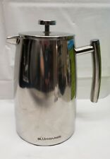 Blümwares French Press Coffee Maker-Double Wall-Stainless Steel-Preowned