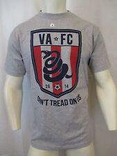 VA FC DON'T TREAD ON US, SOCCER CREW NECK T-SHIRT SIZE MED. USA MADE VIC-THOR1