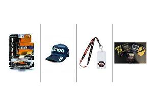 Fernando Alonso Kimoa 2020 IndyCar BaseBall Cap Bundle! Lanyard, Can Cooler, Car