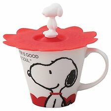 Snoopy mug with silicon cup cover Snoopy SN151-11P japan