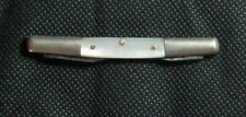 Antique Vintage Pocket Knife 1900s Waltham Cutlery 2 Blade Quill Style M O Pearl
