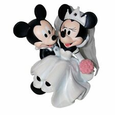 Disney Mickey & Minnie Wedding Figurine/Cake Topper
