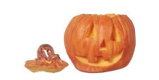 Pumpkin, Doll House 1.12th Scale Miniature Halloween Accessory.