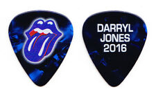 Rolling Stones Darryl Jones Blue Pearl Guitar Pick - 2016 Desert Trip Concert