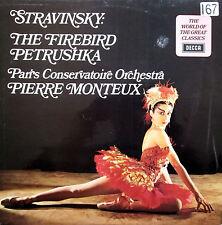 SPA 152 Stravinsky The Firedbird Petrushka Pierre Monteux NM/EX Decca Stereo LP