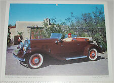 1931 Franklin Airman Phaeton car print (brown, no top)