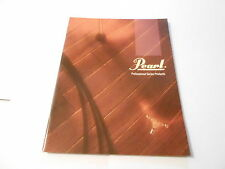 VINTAGE MUSICAL INSTRUMENT CATALOG #10061 - 1990 PEARL DRUM CATALOG