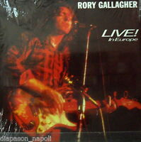 Rory Gallagher: Live ! IN Europe - LP Vinyl 33 RPM