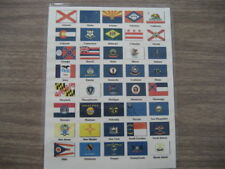 AMERICAN STATE & HISTORICAL FLAGS ILLUSTRATED GUIDE. (185)