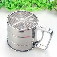 Tools Icing Sugar Sifters Sifter Mesh Shaker Powder Strainer Flour Sieve