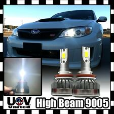 2 x 9005 9140 9145 HB3 White 6500K CREE COB LED Light Bulbs High Beam DRL Power