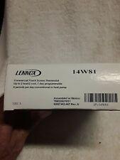 Lennox thermostat 14W81