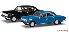 TT 2er Set Wolga M24 blau / schwarz Herpa 065740B