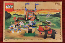 Lego Castle  istruzioni 6095  Royal Joust- Lego 6095 instruction manual