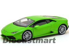 WELLY 18049W LAMBORGHINI HURACAN LP610-4 1:18 DIECAST MODEL CAR GREEN
