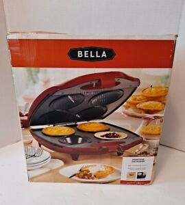 Bella Personal Pie Maker Red (New In Box) - Savory Treats Makes 4 Housemade Pies