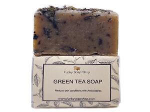 Green Tea Soap, Natural & Handmade, Approx 120g