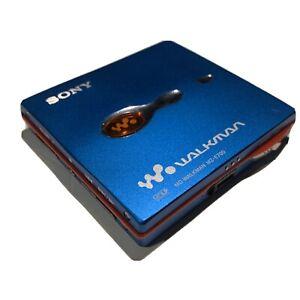 Sony Md Walkman Mz-E700 Mini Disc Player w/ EXTRAS!